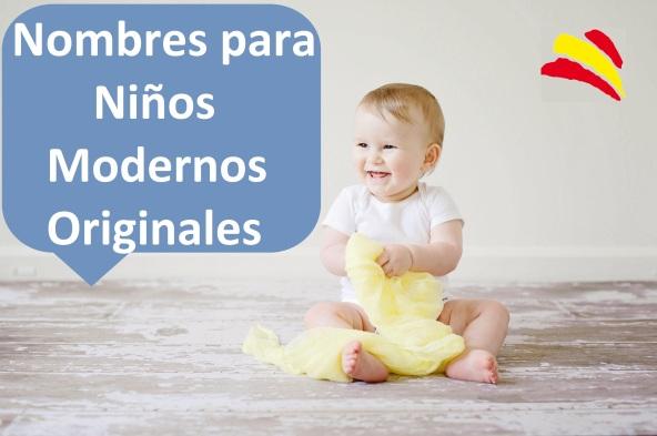 nombres bebes chicos niños españoles originales modernos bonitos famosos cortos bebes tendencia España